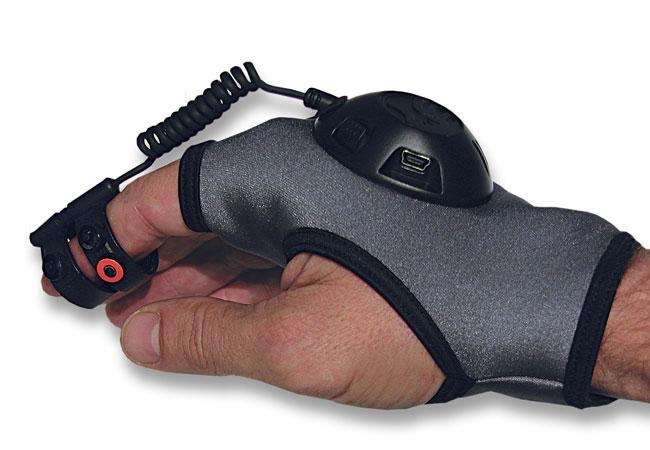 ION Air – мышь в форме перчатки