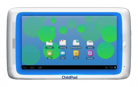 Недорогой планшетник для детей с Android Ice Cream Sandwich