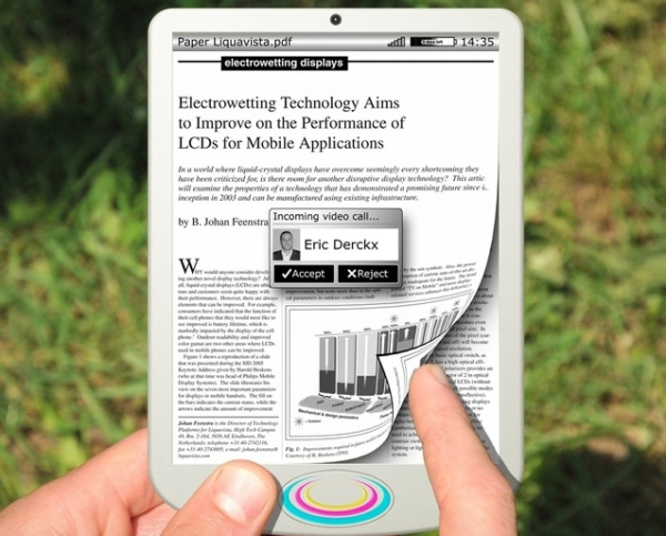 Samsung выпустит гаджеты с экранами EWD в 2013?