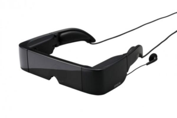 Прозрачные очки с виртуальным экраном от Epson