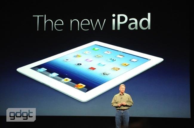 Анонсирован Apple iPad 3