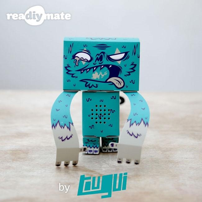 Бумажные настольные питомцы reaDIYmate для креативных особ