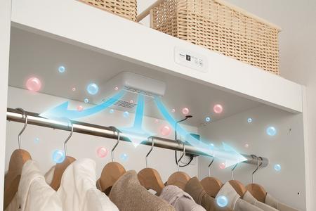 Шкаф, который очищает одежду