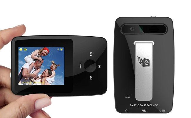 Ematic eSport – MP3- и видеопроигрыватель с камерой