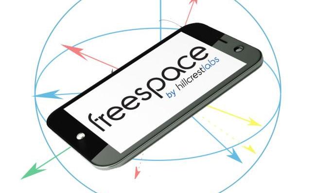 Жестовое управление FreeSpace появится в смартфонах и планшетниках в 2013 году