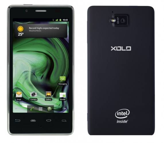 Lava Xolo X900 – смартфон на базе Intel Atom Z2460