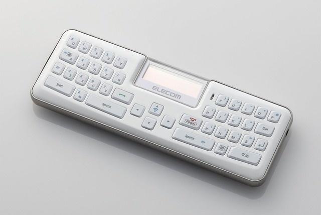 Bluetooth-клавиатура и телефонная гарнитура в одном гаджете от Elecom