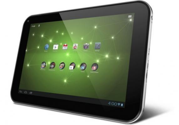 Toshiba выпустят мощный 13,3-дюймовый планшетник