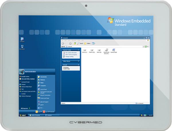 CyberMed T10 - медицинский планшетник от Cybernet и Intel