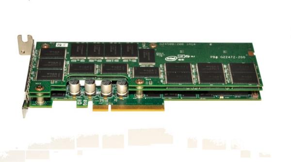 Intel выпускает серверные SSD серии 910 с подключением через PCIe