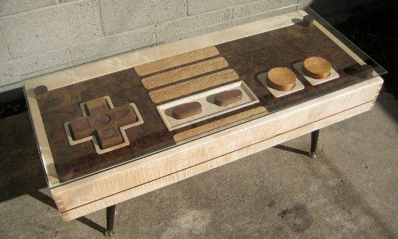 Кофейный столик с функцией контроллера Nintendo