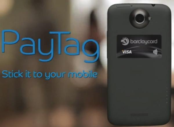 NFC-наклейки Barclaycard PayTag будут выпущены в Великобритании