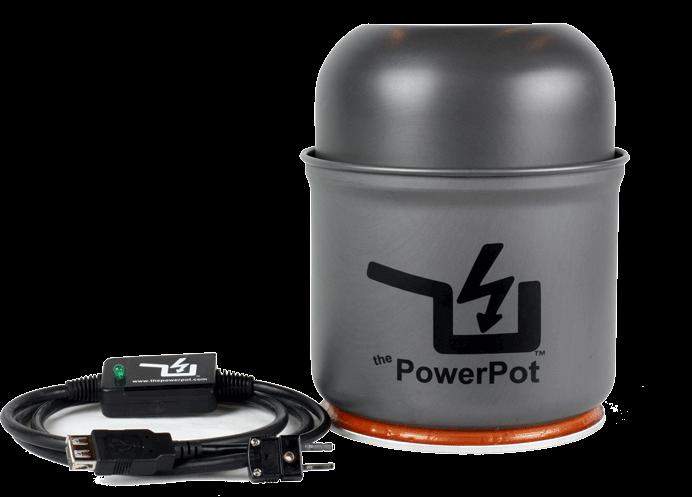 PowerPot – котелок, заряжающий гаджеты