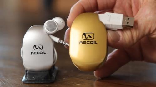 Recoil Winders – оригинальное решение проблемы спутанных проводов