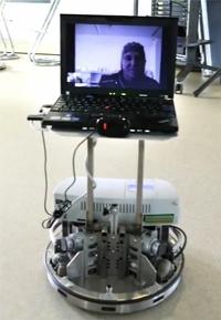 ...фиксирующей сигналы мозга, управлял роботом, находящемся в 100 километрах...