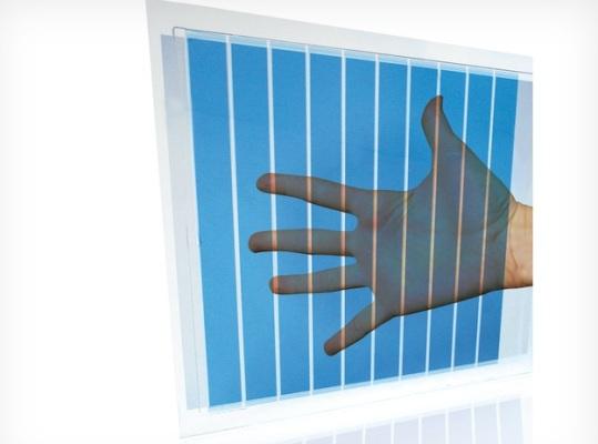 Гибкие полупрозрачные солнечные панели в качестве окон