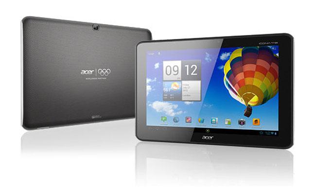 Олимпийский планшетник Acer Iconia A510
