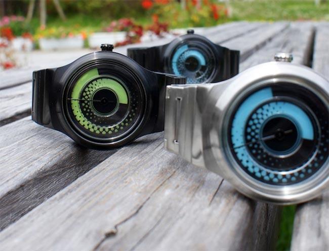 Kisai Uzumaki – аналоговые часы от Tokyoflash