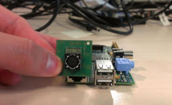 К концу года Raspberry Pi обзаведется камерой