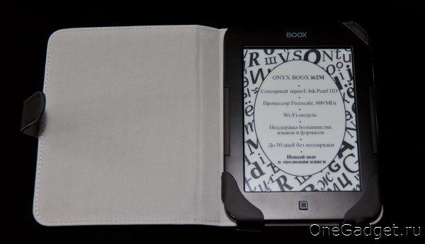 Обзор читалки Onyx Boox i62M «Duncan»