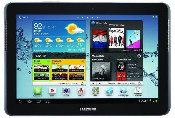 Большой Galaxy Tab 2 не получит четырехъядерный процессор
