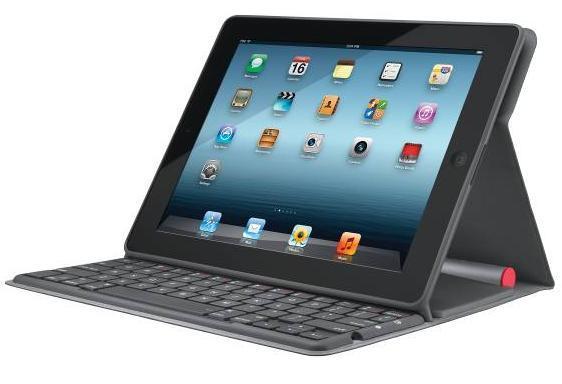 Клавиатура Logitech на солнечных батареях для iPad проработает без подзарядки два года
