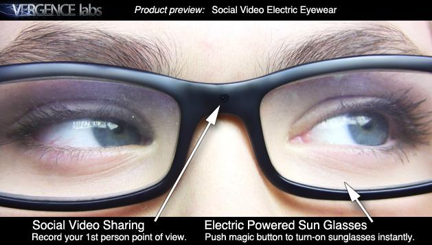 «Социальные очки», документирующие любой момент нашей жизни