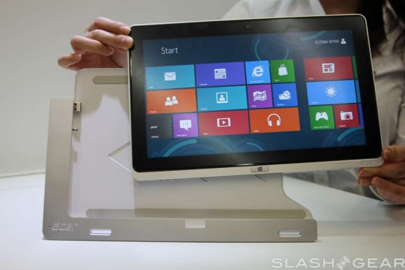 Acer Iconia W700 и W510 – планшетники под Windows 8 от Acer