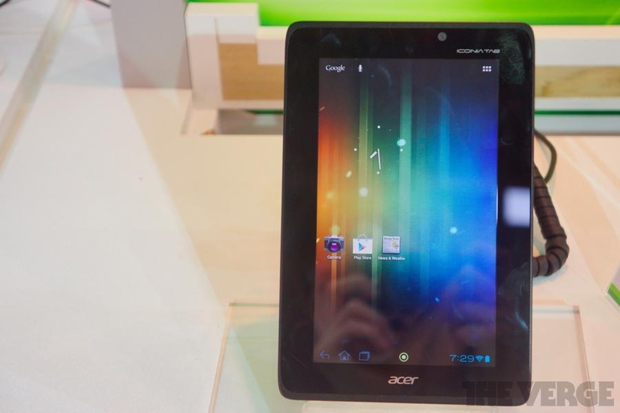 Acer выпустит бюджетный планшетник на базе Nvidia Tegra 3