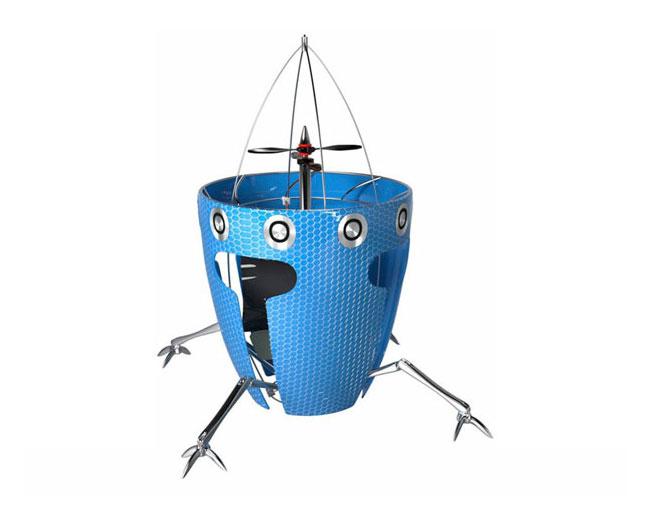 Летающий робот AirBurr