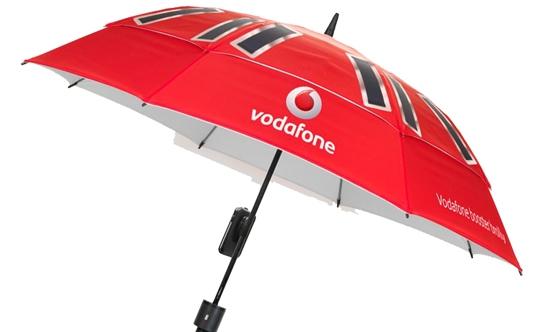 Зонтик/зарядное устройство/усилитель сигнала от Vodafone