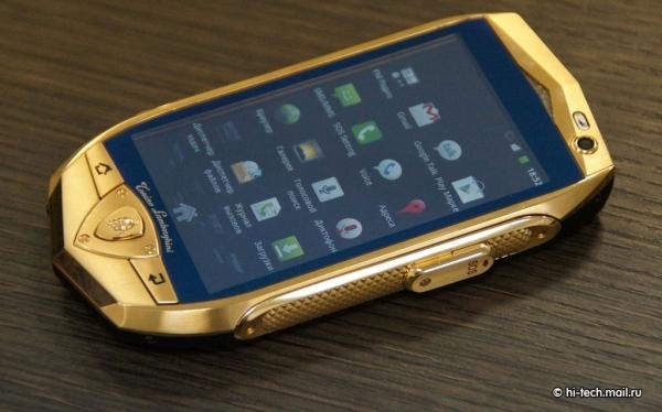 Lamborghini представили смартфон и планшетник для российского рынка