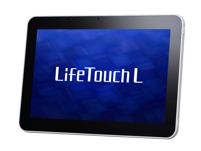 NEC анонсирует Android-планшетники LifeTouch L