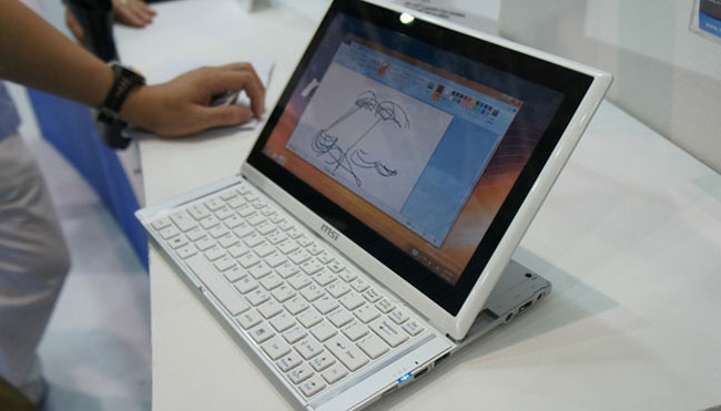 Гибридный ультрабук-планшетник MSI Slider S20