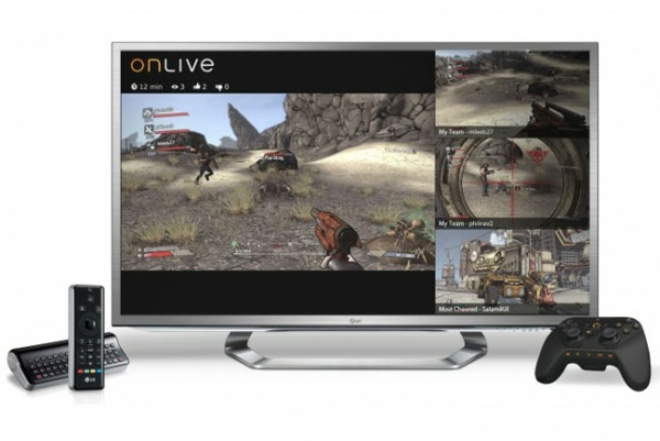 OnLive анонсировали выпуск сервиса для LG GoogleTV (G2)