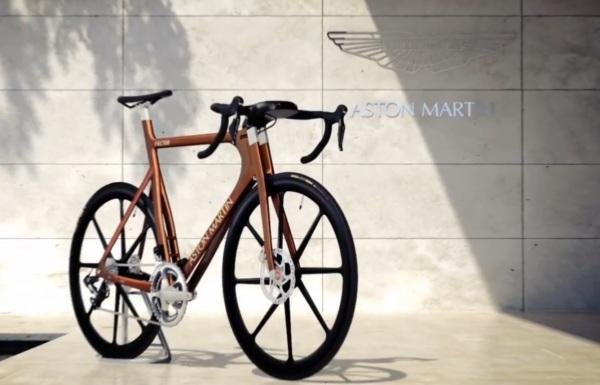 Велосипед класса люкс от Aston Martin и Factor Bikes