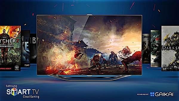 Новые телевизоры Samsung  будут подключены к игровому облаку Gaikai