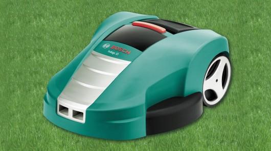 Первый в мире «умный» робот-косильщик от Bosch