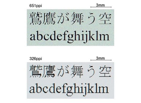 Разработан дисплей с плотностью пикселей 651 ppi
