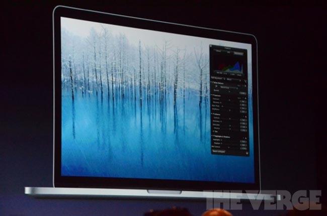 Новый MacBook Pro с дисплеем Retina