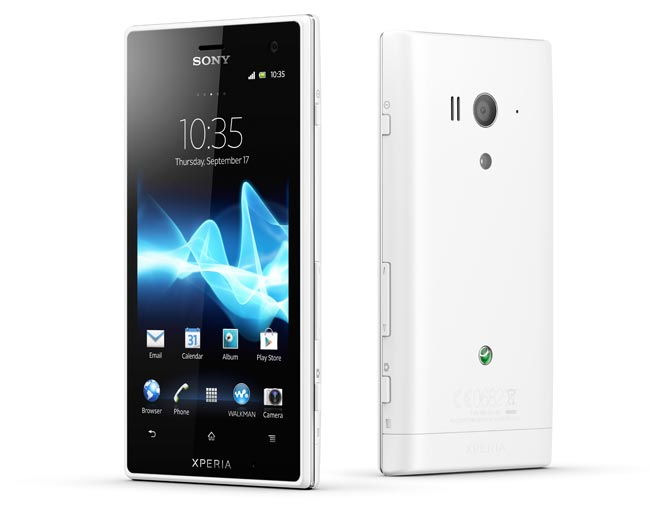 Xperia Acro S – водонепроницаемый смартфон с камерой на 12 Мп от Sony