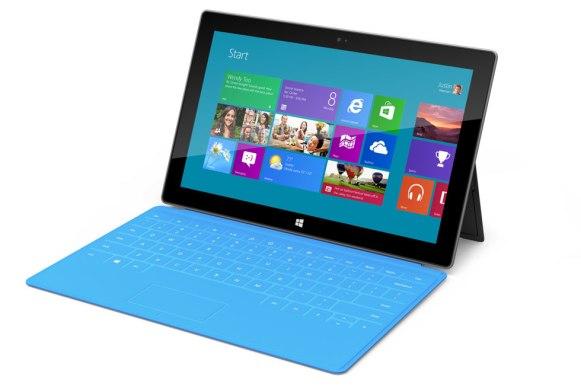 Планшетник Microsoft Surface представлен официально