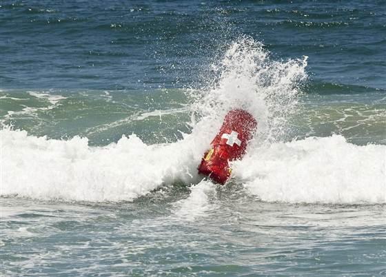 Спасатель на воде робот Emily спас первые жизни