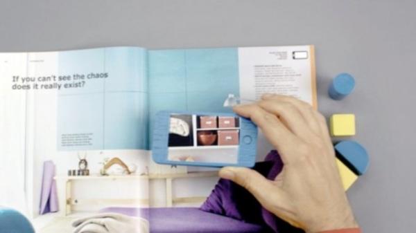 IKEA используют дополненную реальность в новом каталоге