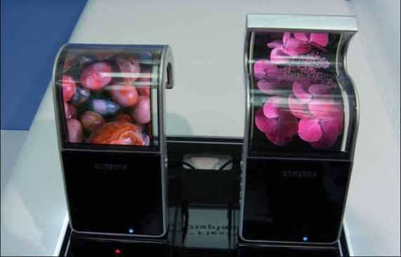 Производство гибких AMOLED-дисплеев начнется уже в этом месяце