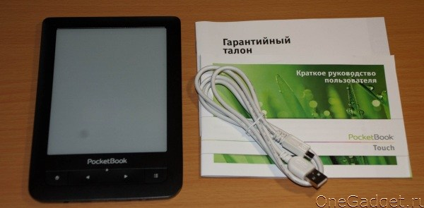 Обзор читалки PocketBook Touch