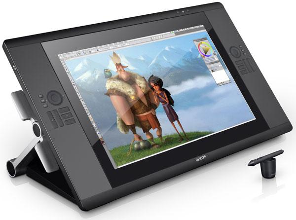 Wacom Cintiq 24HD touch – графический планшет с поддержкой мультитач