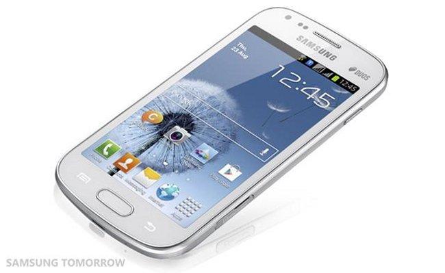 Samsung анонсируют Galaxy S DUOS
