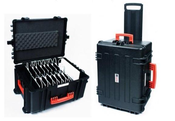 Защищенное зарядное устройство для 16 планшетников и ноутбука