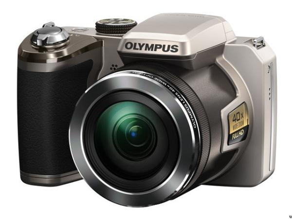 Новая камера Olympus с 40х оптическим зумом